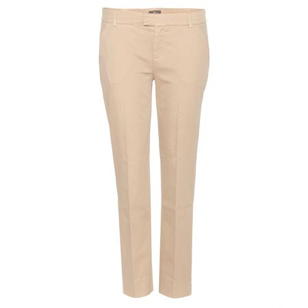 7 for all Mankind Cropped Chinos brown