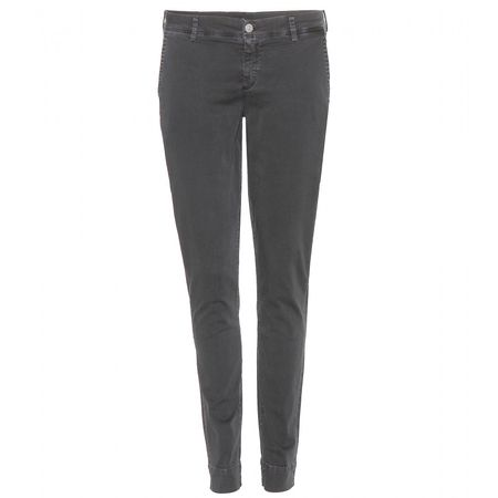 7 for all Mankind Roxanne Chinos gray