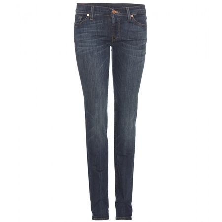 7 for all Mankind Roxanne Skinny Jeans gray