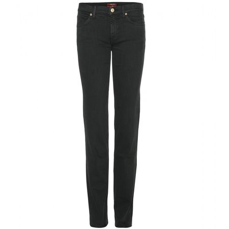 7 for all Mankind Roxanne Slim Jeans black