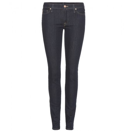 7 for all Mankind The Skinny Jeans gray