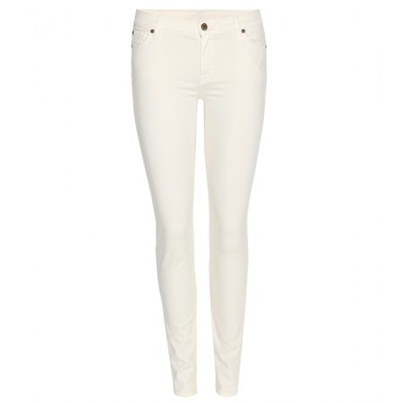 7 for all Mankind The Skinny Jeans white
