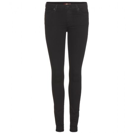 7 for all Mankind The Super Skinny Jeans black