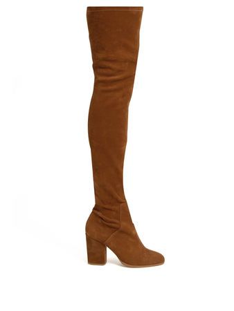 Alexa Wagner Domino suede over-the-knee boots