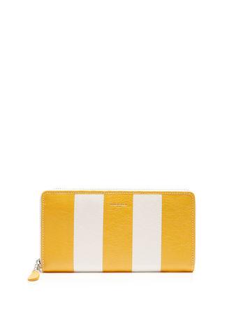Balenciaga Bazar zip-around leather continental wallet