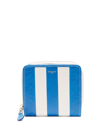 Balenciaga Bazar zip-around leather wallet