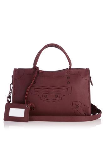 Balenciaga Blackout City small leather bag