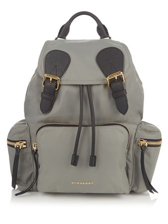 Burberry, London Medium nylon backpack