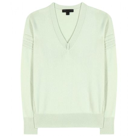Burberry Prorsum Cashmere-blend Sweater beige
