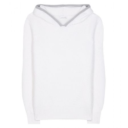 Callens Mytheresa.com Exclusive Alpaca And Wool-blend Hoodie white