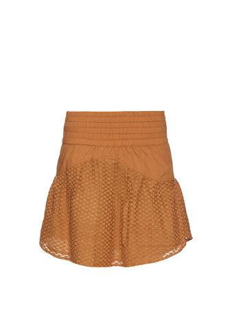 Cecilie Copenhagen Pico cotton and silk-blend mini skirt
