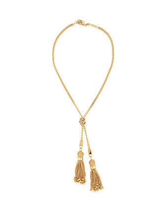 Chloé Lynn tassel-drop necklace