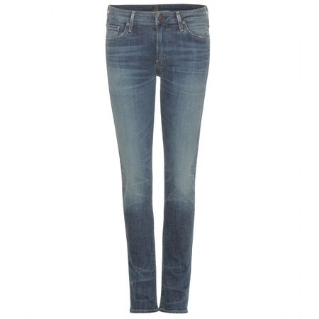 Citizens of Humanity Arielle Mid-rise Slim Jeans gray