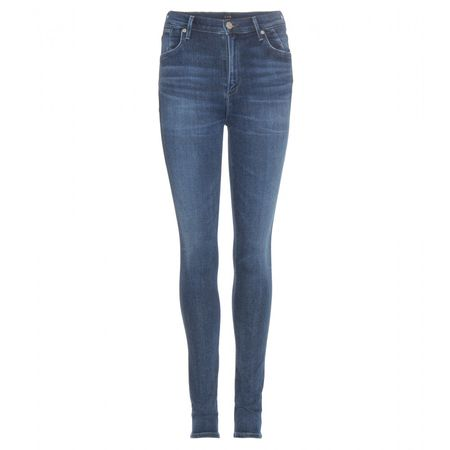 Citizens of Humanity Carlie Skinny Jeans gray
