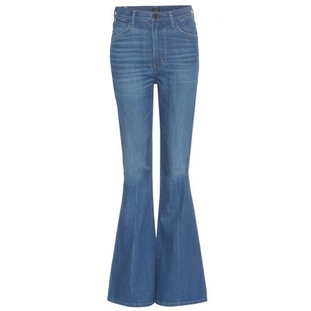 Citizens of Humanity Cherie High-rise Flared Jeans blue