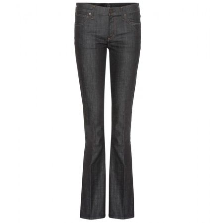 Citizens of Humanity Emanuelle Slim Bootcut Jeans gray