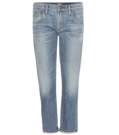 Citizens of Humanity Emerson Slim-fit Boyfriend Jeans gray