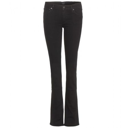 Citizens of Humanity Emmanuelle Slim Bootcut Jeans black