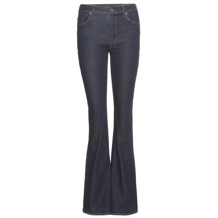 Citizens of Humanity Fleetwood Sculpt High-rise Flared Jeans gray