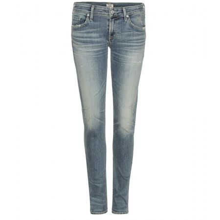 Citizens of Humanity Racer Skinny Jeans gray