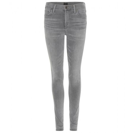 Citizens of Humanity Rocket High-rise Skinny Jeans gray