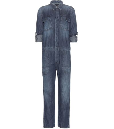 Citizens of Humanity Tallulah Denim Jumpsuit gray