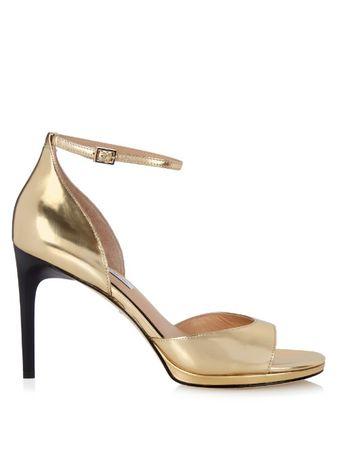 Diane von Furstenberg Jalen sandals brown