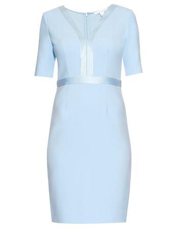 Diane von Furstenberg Masie dress blue