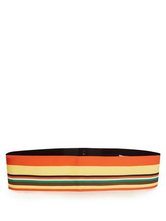 Diane von Furstenberg Striped ribbon belt