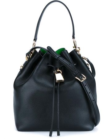 Dolce & Gabbana Leather Bucket Bag black