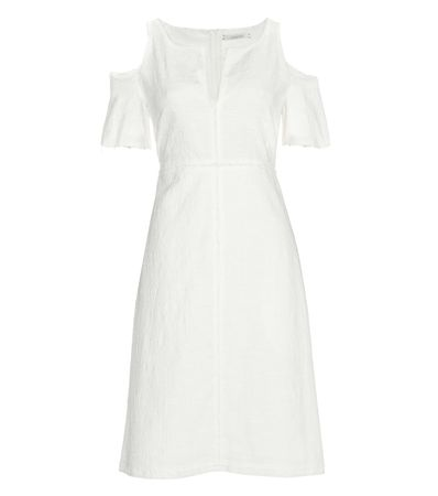Dorothee Schumacher Close To Nature Cotton Dress white