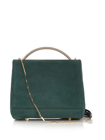 Eddie Borgo Dean mini leather shoulder bag