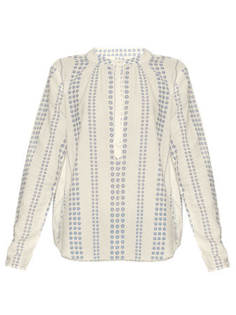 Current/Elliott The Annabelle cotton blouse