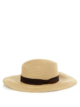 Filu Hats Batu Tara straw hat white