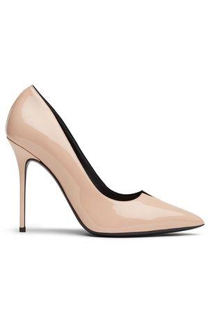 Giuseppe Zanotti Lucrezis Pointed Heel in Blush brown