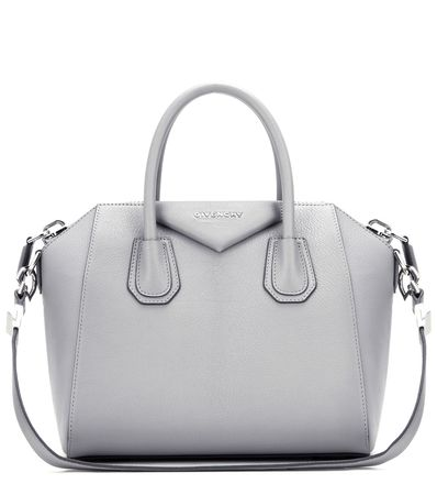 Givenchy Antigona Small Leather Tote gray