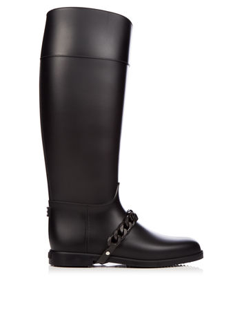 Givenchy Chain rubber rain boots