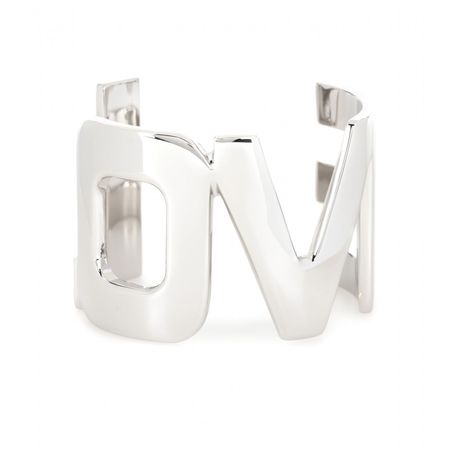 Givenchy Love Metal Cuff white