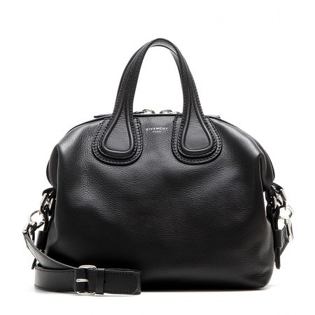 Givenchy Nightingale Small Leather Tote black
