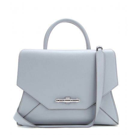 Givenchy Obsedia Small Leather Tote gray