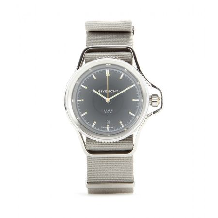 Givenchy Seventeen Stainless Steel Watch gray