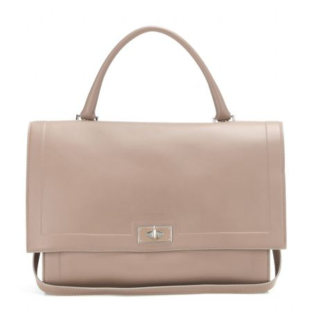 Givenchy Shark Medium Leather Tote brown