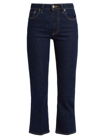 Golden Goose High-rise cropped bootcut jeans
