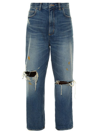 Golden Goose Kim distressed boyfriend jeans
