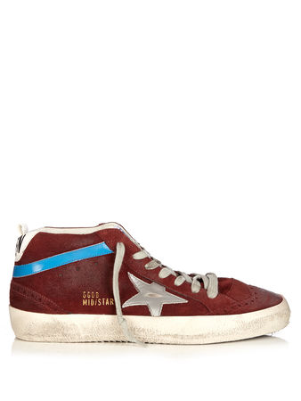 Golden Goose Midstar suede trainers