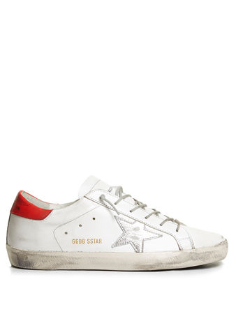 Golden Goose Super Star low-top leather trainers