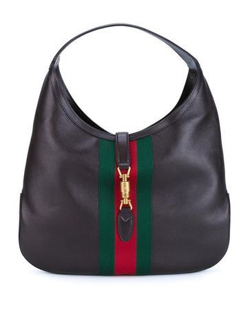 Gucci Jackie Soft Hobo Bag gray
