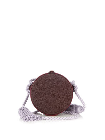 Hillier Bartley Collar box leather tassel bag