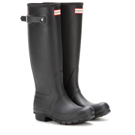 Hunter Original Tall Wellington Boots gray