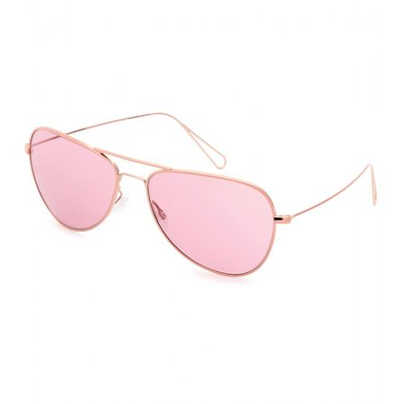 Isabel Marant Matt Teardrop-frame Sunglasses Par Oliver Peoples white